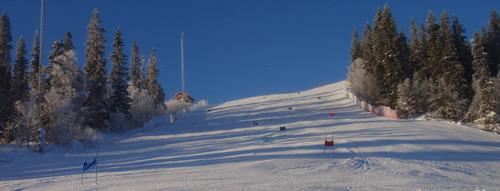 Zjazdové lyžovanie - tréning