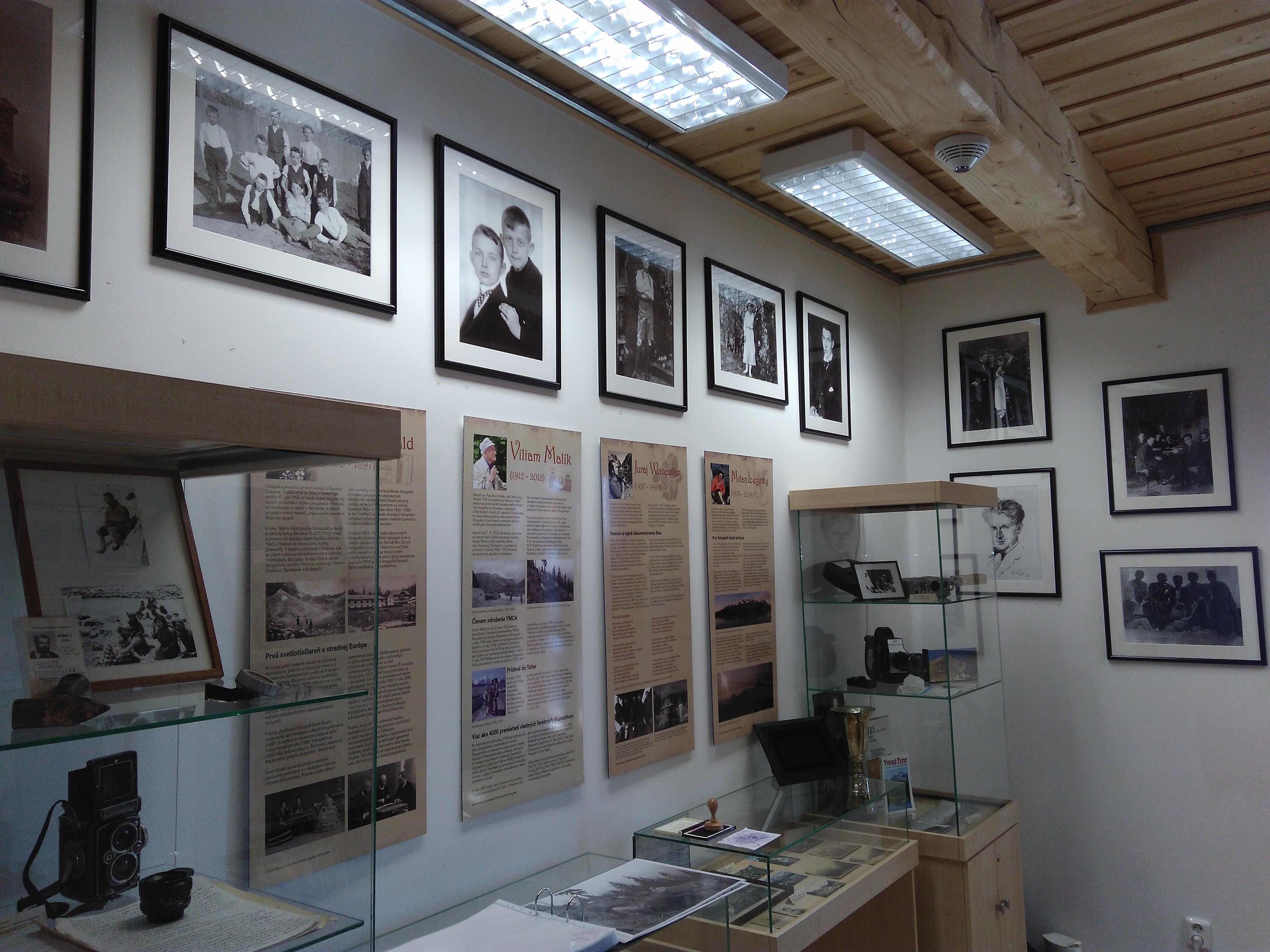 Stálu expozíciu dopĺňajú výstavy s tatranskou tématikou
