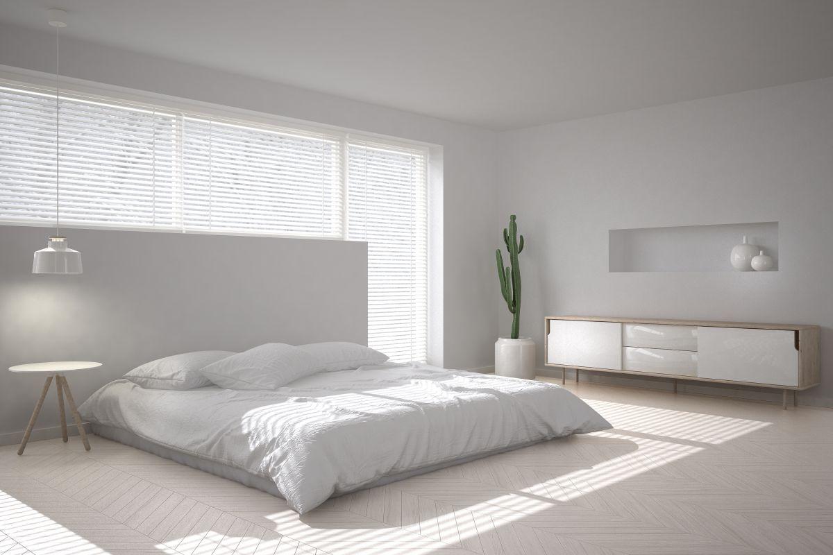 Biela spálňa, stávka na istotu