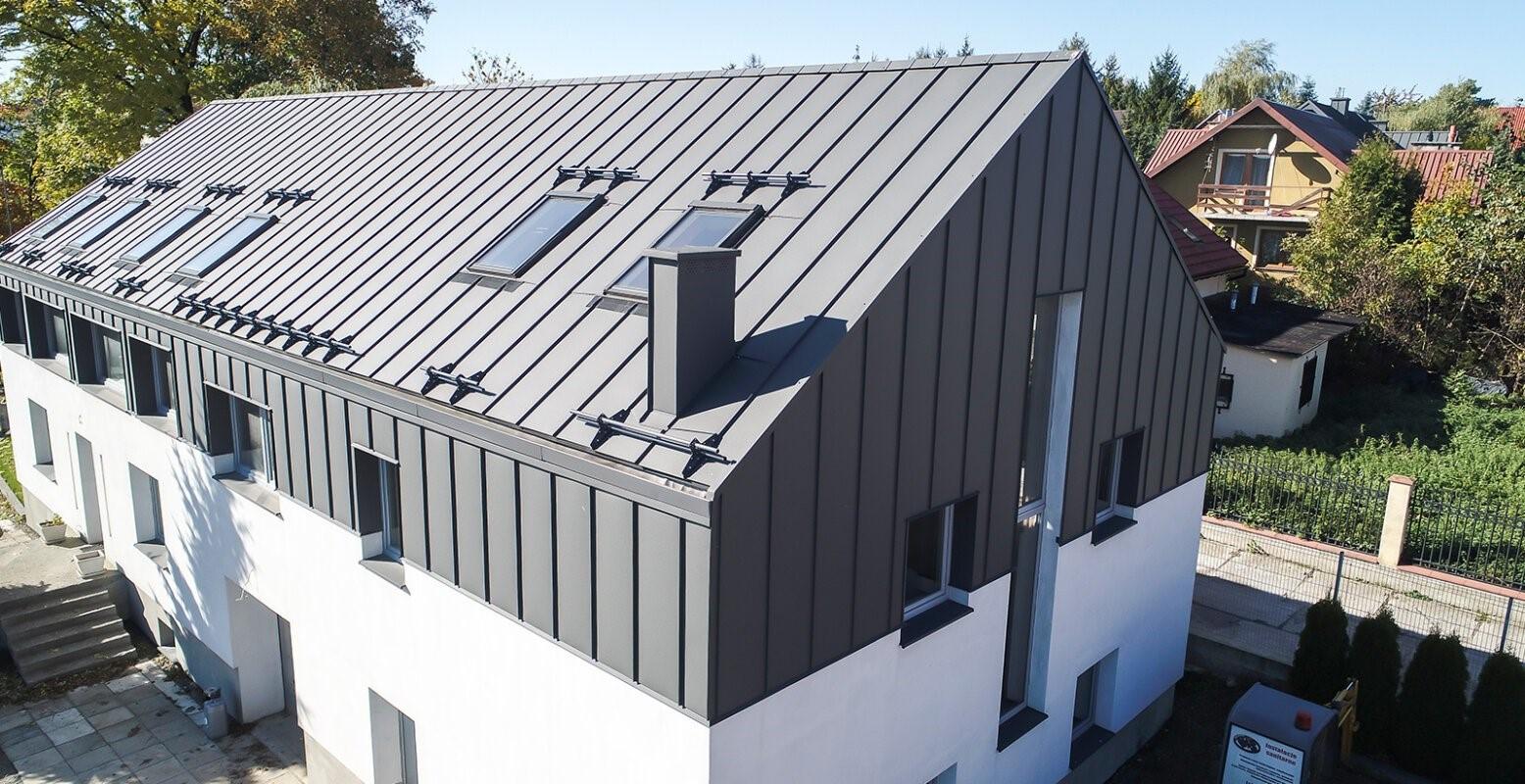 strecha z trapézového pelchu